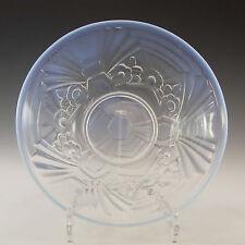 Jobling Art Deco Opaline/Opalescent Glass Flower Bowl