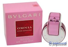 Omnia Pink Sapphire by Bvlgari for Women 2.2 oz EDT Spray Brand New In Box