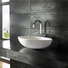 Countertop Solid Oval Bathroom Sinks