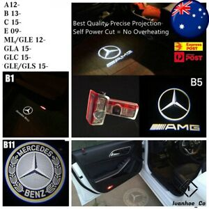 4x Projector Welcome Courtesy Light Door Puddle Lights for Mercedes Benz AUS