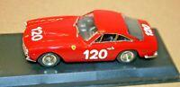 1/43 FERRARI 250 GT LUSSO #120 TARGA FLORIO 1964 RED Best MODEL LTD. #9078