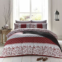 Catherine Lansfield Oriental Birds Duvet Quilt Cover Set All Sizes
