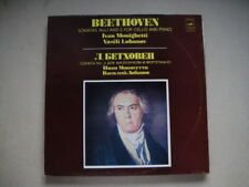 Monighetti-Cello, Lobanov-Piano BEETHOVEN: Son.1&2