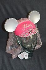 Disney World/ Disneyland Exclusive Princess with Tiara and Viel Mickey Ears Hat