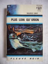 """FLEUVE NOIR ANTICIPATION N°417 - Maurice LIMAT """"PLUS LOIN QU'ORION"""""""