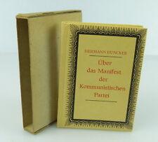 Minibuch : Über das Manifest der Kommunistischen Partei,Tribüne BLN 1983  /r149