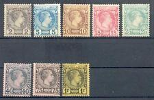 Monaco 1885 2-9 * mi € 3480 (z2636