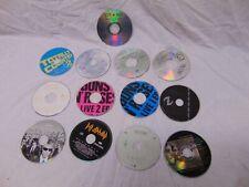 (13) Rock Pop Cds Bon Jovi Def Leppard Mcgraw Guns & Roses Evanescence