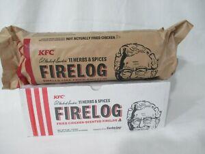 KFC Fire Log Kentucky Fried Chicken 11 Herbs Spices Enviro Log USA New Sealed