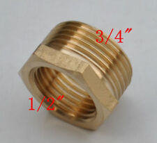 """High quality One pcs Brass NPT G1/2"""" female transfor 3/4"""" male threads adapter"""