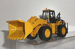 CAT 1/50 CATERPILLAR 980G WHEEL LOADER WITH OPERATOR 85027
