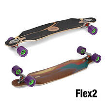 Loaded Icarus Flex2 komplett Longboard purple Orangatang Kegel Wheels