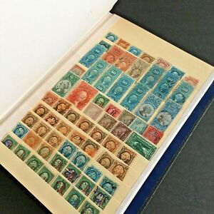 US STAMPS Stock Book LOADED w/Various Revenue & BOB Stamps USED Great Lot $$$