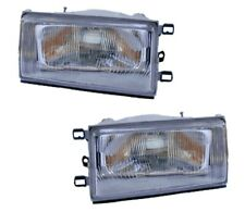 FITS TOYOTA COROLLA AE80 AE82 1983-1985 Front Headlight LEFT + RIGHT NEW PAIR