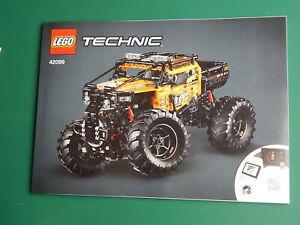 New Genuine Lego Technic Instruction Booklets  4x4 XTreme Off-Roader set 42099