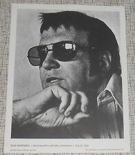 Jean Shepherd - Author - 1977 International Portrait Gallery Photo Print