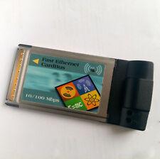 10/100MBit ETHERNET PCMCIA Karte   LAN   Netzwerkkarte   32Bit   Windows Linux