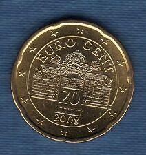 Autriche 2009 - 20 Centimes D' Euro - Pièce neuve de rouleau -