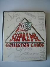 SUPREME COLLECTORS CARDS  SET 90 CARDS + 1 SIGNEE +7 BONUS SUR 9 + 1 PROMO   TBE