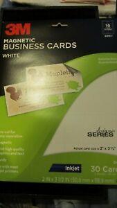 3M Printer Magnets Business Cards Inkjet Printable Magnetic Sheets Pre-cut NIP