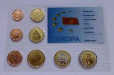 MONTENEGRO Crna Gora 2006 SET EURO COINS SPECIMEN PATTERN ESSAI PROTOTYPE