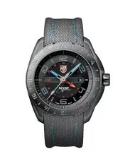 Luminox Men's Watch 5121.GN.1 Space Edition Black Dial Ion Plated Stainless