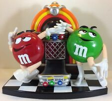 M&M Candy Dispenser Juke Box With Red And Green Dancing