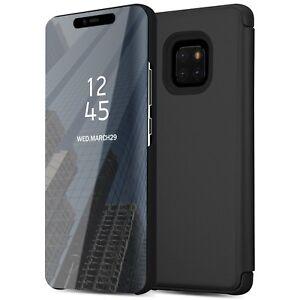 Handytasche Huawei Mate 20 Pro Spiegel Handyhülle Schutz Hülle 360 Flip ViewCase