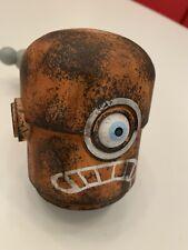 ThreeA Ashley Wood 3A Popbot NABLER Robot Head Rare Orange Frown Wwr Tk