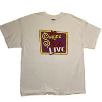VTG The Price Is Right LIVE Promo TV Show T-Shirt Size XL