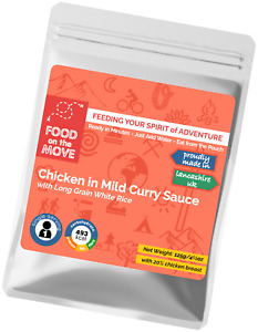 Food Supplies: Lightweight Dehydrated Pouched Meal - Chicken in Mild Curry