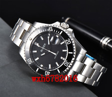 43mm BLIGER Ceramic bezel sapphire crystal Automatic Mechanical Mens Watch