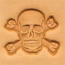 8547 Skull & Crossbones Craftool 3-D Stamp Tandy Leather 8547-00
