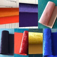 Velvet Felt Fabric Matching Felt Sheet A4 Craft Bow Maker DIY Soft Print