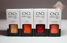 CND Shellac Gel Polish BOHO SPIRIT Full 4pcs Summer Collection 2018!