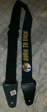 The Simpsons BART BORN TO ROCK  GUITAR STRAP free USA SHIPPING nwt