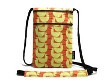 Ducks in a Row Pond Fabric travel pouch, Passport holder, Travel Accessory - NEW