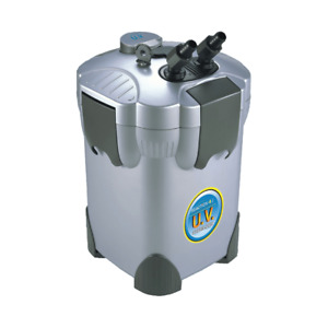 JBJ Reaction 4-Stage UV Sterilizer Canister Filter for Aquariums Up to 150 Gal