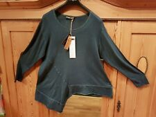 Neues AngebotLAGENLOOK Barbara SPEER Pullover 42-44-46 100%BIO-Baumwolle KBA asymmetrischNeu