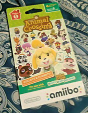 Animal Crossing amiibo Card Pack: Series 1 Single Pack NEW SEALED