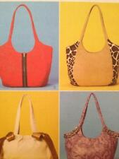 McCalls Sewing Pattern 6046 Four Lined Bags Handbag Uncut Accessories Fashion