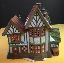 "Dept 56 5800-9 Dickens Heritage Village ""Hembleton Pewterer"""