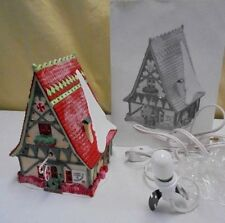 New Candy Canes & Pepermint Shop #56390 Heritage Collection Villiage Dept 56
