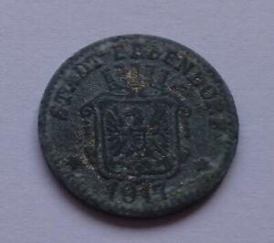 Notgeld: Germany, Erbendorf 5 Pfennig 1917, War money, Emergency coin