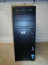 HP Z200 WorkStation Xeon Quad Core X3450 2.66GHz 8GB RAM NO HDD (Hard Disk Drive