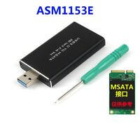 USB 3.0 to mSATA SSD Hard Disk Box Converter Adapter Enclosure External Case