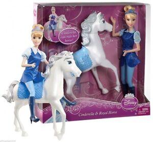 "Cinderella – 12"" Doll & Royal Horse Disney Princess Gift Set"
