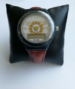 SWATCH *LEGEND* THE BEEP 12 JEWELS 47MM QUARTZ WATCH. (1993 VINTAGE COLLECTABLE)