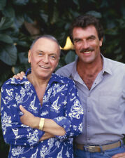 Magnum TV series 1987 original 4x5 transparency Tom Selleck Frank Sinatra rare