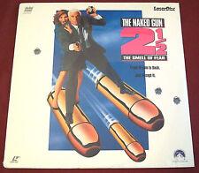 THE NAKED GUN 2 1/2 THE SMELL OF FEAR LASERDISC LD LESLIE NIELSEN OJ SIMPSON NEW
